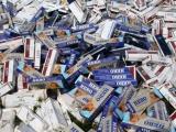 Hành vi buôn bán, vận chuyển thuốc lá lậu sẽ bị phạt tiền từ 1-3 triệu đồng