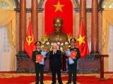 Hai tướng quân đội được Chủ tịch nước thăng hàm Thượng tướng