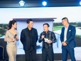 Bình Minh, Hải Anh cùng các Golfer tại giải golf Gắn kết yêu thương