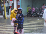 Quảng Nam, Đà Nẵng cho học sinh nghỉ học để tránh bão số 9