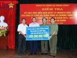 Công An tỉnh An Giang ủng hộ đồng bào miền Trung 1 tỷ đồng khắc phục hậu quả bão lũ