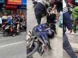 Hà Nội: Tạm giữ nghi phạm cướp tiệm vàng ở phố Tôn Đức Thắng