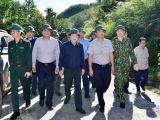 Phó Thủ tướng Trịnh Đình Dũng trực tiếp chỉ đạo công tác tìm kiếm, cứu nạn tại Bắc Trà My