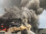 Bình Dương: Cháy lớn tại xưởng sản xuất ghế sofa