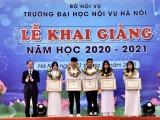 Trường Đại học Nội vụ Hà Nội long trọng tổ chức Lễ khai giảng năm học mới 2020 - 2021