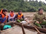 Sử dụng thiết bị bay không người lái để tìm kiếm nạn nhân ở Trà Leng