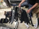 Quảng Ninh: Thu giữ nhiều vũ khí, công cụ hỗ trợ trái phép