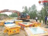 An Giang: Công an TP Châu Đốc tiêu hủy tang vật vi phạm hành chính