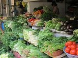 Giá rau xanh tại các thành phố lớn tăng mạnh