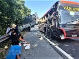 Tai nạn nghiêm trọng ở cao tốc Pháp Vân - Cầu Giẽ khiến 4 người bị thương