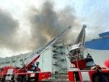 TP.HCM: Cháy lớn tại Khu công nghiệp Hiệp Phước
