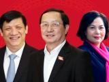 Quốc hội phê chuẩn bổ nhiệm 3 thành viên Chính phủ