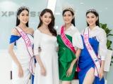 Á hậu Thuỳ Dung khoe sắc bên Top 3 Hoa hậu Việt Nam 2020