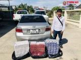 An Giang: Bắt giữ ôtô vận chuyển 1.490 bao thuốc lá nhập lậu