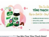 Quảng cáo thực phẩm BVSK Viên tán sỏi Tống Thạch Hoàn gây hiểu lầm là thuốc chữa bệnh
