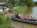 Hai tỉnh Khánh Hòa, Ninh Thuận cho học sinh nghỉ học vì mưa lớn