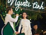 'Người yêu tin đồn' hộ tống Lệ Quyên tham gia 'Sunset Show' của Jimmii Nguyễn