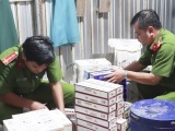 Tây Ninh: Bắt giữ vụ vận chuyển hàng nghìn bao thuốc lá nhập lậu