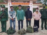 Bắt giữ 4 đối tượng nhập cảnh trái phép từ Lào vào Việt Nam