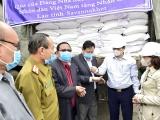 Việt Nam hỗ trợ Lào 1.000 tấn gạo khắc phục thiên tai