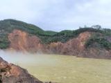 Thừa Thiên Huế: Sạt lở đất mạnh ở thủy điện Hương Điền