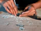 Làng nghề khảm trai Chuyên Mỹ: Nghìn năm vẫn hưng thịnh