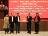 Hà Nội hỗ trợ 91 tỷ đồng cho đồng bào miền Trung, Tây Nguyên bị bão lũ