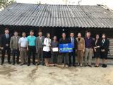Danko Group trao tặng kinh phí xây nhà cho gia đình nghèo tại Thái Nguyên