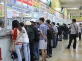 Bộ GTVT yêu cầu xử lý nghiêm tình trạng tăng giá vé tàu xe dịp Tết