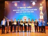 """Giải thưởng """"Quả cầu vàng"""" trao cho 10 gương mặt trẻ xuất sắc trong lĩnh vực khoa học công nghệ"""