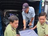 Hậu Giang: Phát hiện vụ vận chuyển hơn 2.000 bao thuốc lá nhập lậu