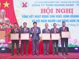 Công ty Than Quang Hanh tổ chức thành công Hội nghị tổng kết sản xuất, kinh doanh năm 2020