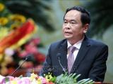 Đồng chí Trần Thanh Mẫn chúc mừng Giáng sinh tại Tòa Giám mục Phát Diệm