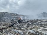 Bình Định: Cháy nhà xưởng công ty may, thiệt hại ước tính 10 tỷ đồng