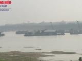 Phú Thọ: Tiếp tục hoạt động khai thác cát, sỏi trên sông Lô và sông Chảy