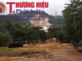 Thừa Thiên - Huế: Nhà máy thủy điện A Lưới bị vỡ đường ống dẫn nước