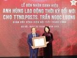 Phó Chủ tịch nước trao danh hiệu Anh hùng Lao động cho Giám đốc BV Nội tiết Trung ương