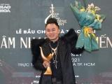 Tùng Dương lập hat-trick tại giải Âm nhạc Cống hiến lần thứ 16