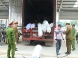 Thanh Hóa: Bắt xe ô tô vận chuyển hàng tấn hàng nhập lậu