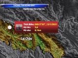 Lai Châu xảy ra trận động đất 3.6 richter