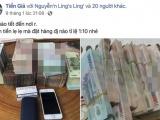 Ngang nhiên công khai rao bán tiền giả trên chợ mạng dịp cận Tết