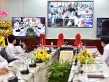 Kết nối Teleheath điều hành chăm sóc sức khỏe cán bộ dự Đại hội XIII của Đảng