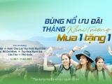 Bamboo Airways tung ưu đãi mua 1 tặng 1 mừng loạt đường bay khai trương đầu năm 2021