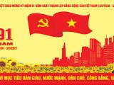 Kỷ niệm 91 năm Ngày thành lập Đảng Cộng sản Việt Nam
