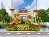 Gấp rút hoàn thiện đường hoa Nguyễn Huệ chào mừng tết Tân Sửu 2021
