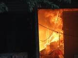 Cháy lớn tại khu phố Hòa Lân 2, cột khói bốc cao nghi ngút