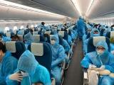 Hai chuyến bay đón 390 công dân Việt Nam tại Myanmar về nước