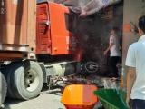 TPHCM: Xe container lao vào nhà dân, một người tử vong