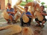 """Làng nghề truyền thống Ninh Sở: """"Kết duyên"""" cho mây, tre"""