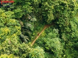 Độc đáo giải chạy siêu địa hình ba bể Jungle Marathon 2021